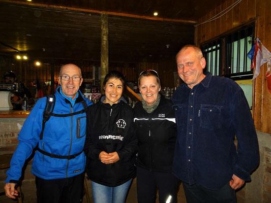 Mit Laura und Robert Tauss