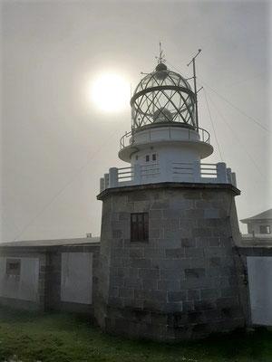 Der Leuchtturm am Kap Estaca de Bares....