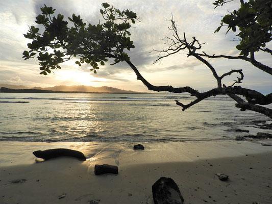 17.30h - Die Sonne geht unter, in 30min ist es dunkel....