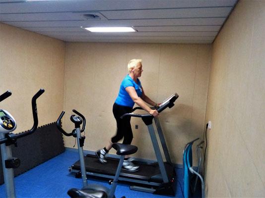 Fitness auf dem Schiff