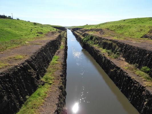 Kanalisierter Zufluss