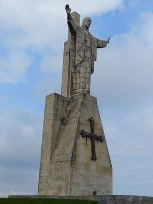 Christus Statue auf dem Pico Paisano