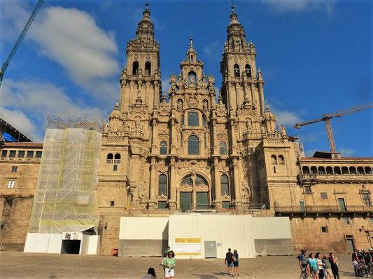 Kathedrale von Santiago de Compostela....