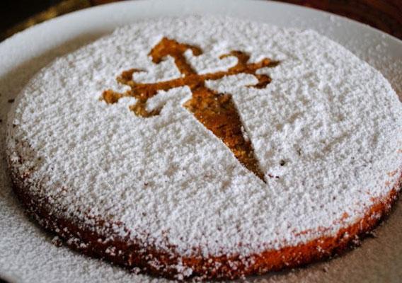 Tarta de Santiago - Mandelkuchen