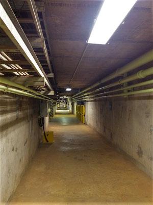 Kilometerlange Tunnels