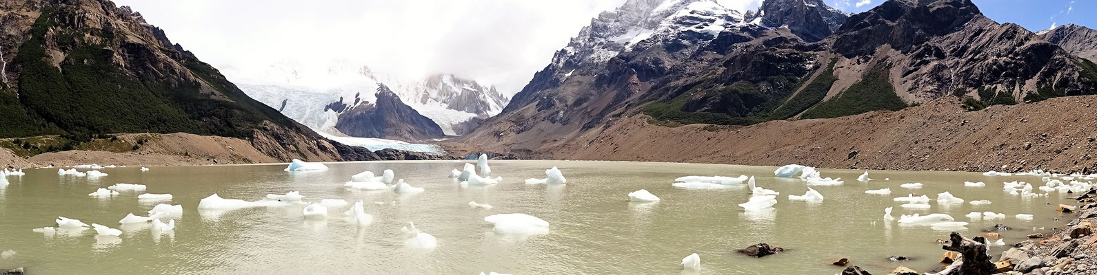 Laguna Torre mit Glaciar Grande