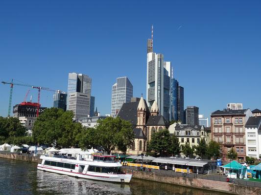 Die moderne Stadt Frankfurt