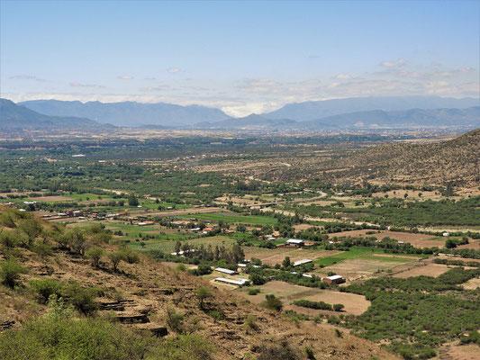 Jetzt geht es runter nach Tarija auf 1890 müM