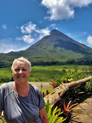 ....und den Vulkan
