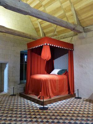 Das Bett des Königs