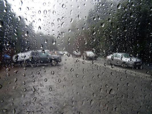 Es regnet und regnet.....