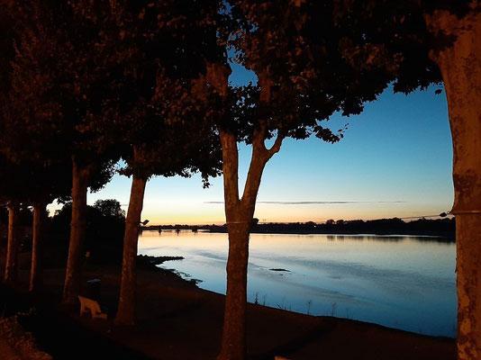 ....in den Sonnenuntergang
