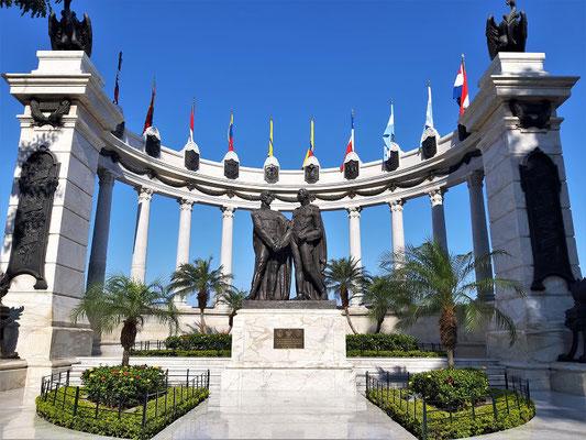 Denkmal für die Befreier der Stadt - Simón Bolivar und Mariscal Sucre