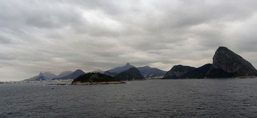 Letzter Blick auf Río