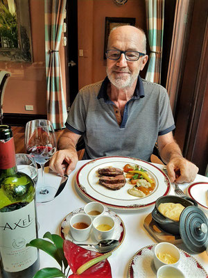 ....mit einem feinen Chateaubriand
