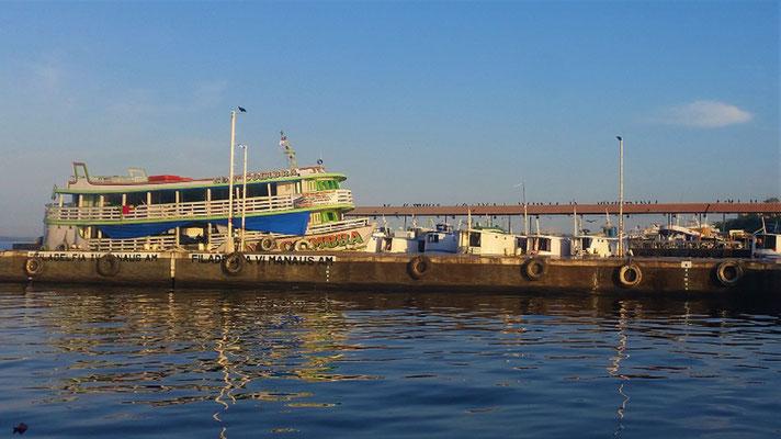 Manaus am Morgen....