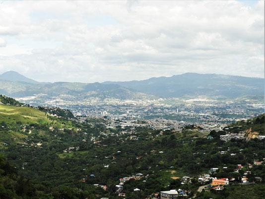 Blick auf Tegucigalpa....