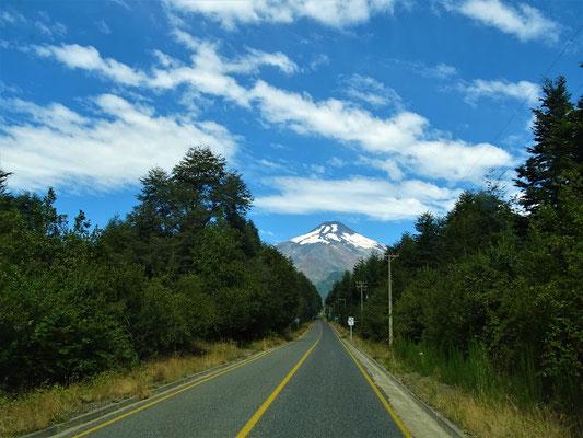 Auf der Fahrt zum Vulkan Villarrica