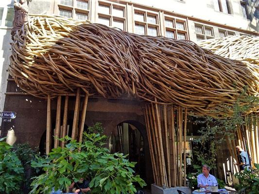 Kleines Kunstwerk aus Bambus :o)