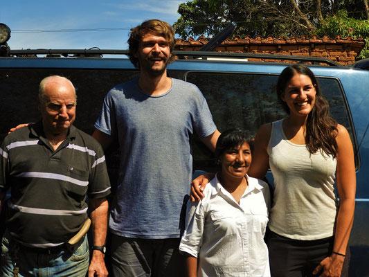 Toni, Tobias, Miriam und Carina