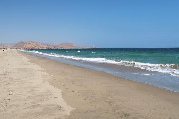 Strandspaziergang nach Los Organos