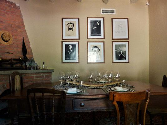 Im gemütlichen Restaurant 'Ojo de Agua'