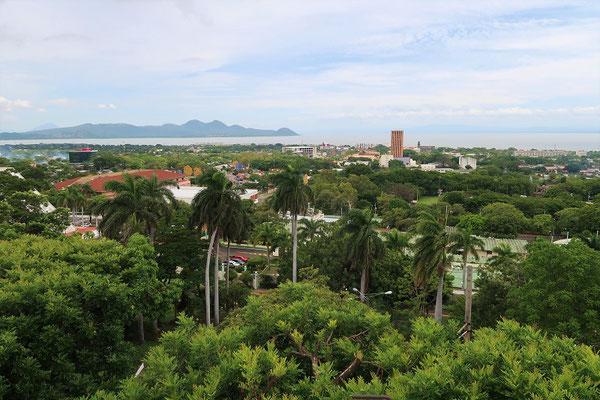 ....mit wunderbarer Aussicht auf Managua und den Managua-See....