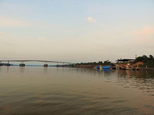 Abfahrt auf dem Río Madeira nach Manaus