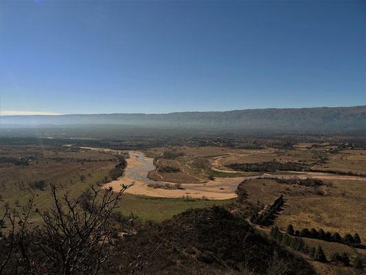 Die Aussicht vom Cerro Nono