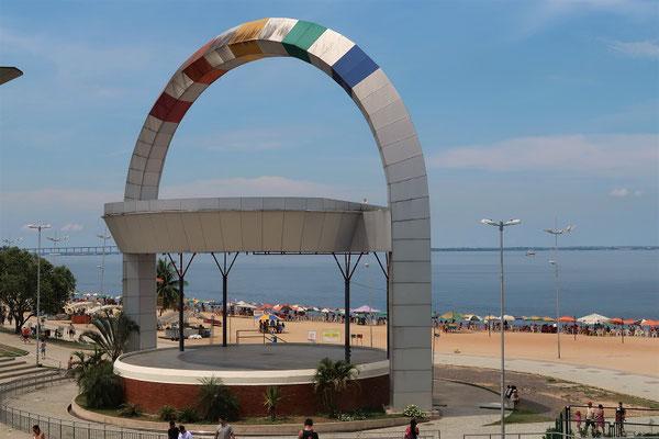 Praia Ponta Negra - der Strand von Manaus