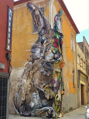 ....zeigt auf kunstvolle Art unser Müllproblem