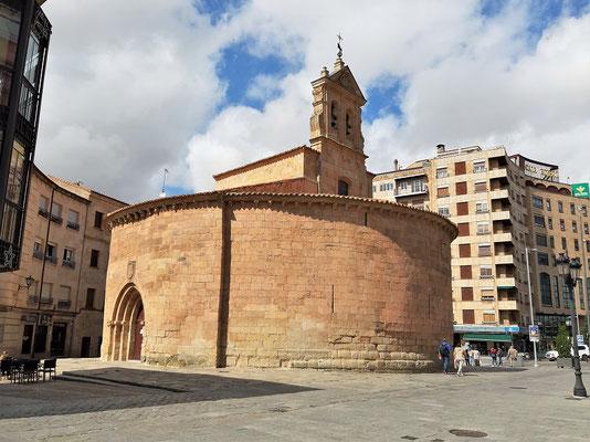 Rundkirche Iglesia de San Marcos - erbaut 1178