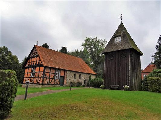 Kirche in Undeloh/Lüneburger Heide