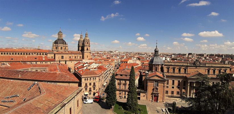 Blick auf Salamanca