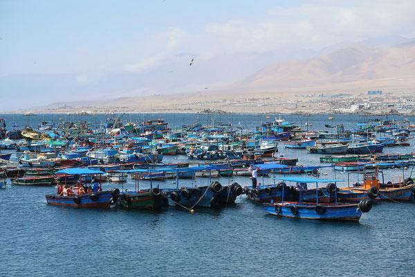 Fischerhafen von Ilo