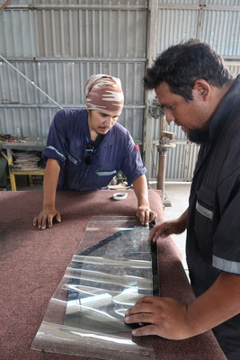 Nur laminierte Fenster dürfen in Chile verbaut werden