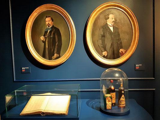 Die Brüder Adolphe und Edouard-Jean Cointreau