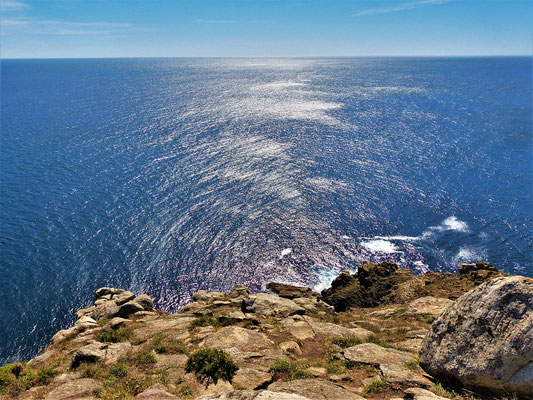 Blick über den Atlantik nach Nordamerika