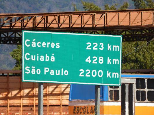 Brasilien ist unglaublich riesig