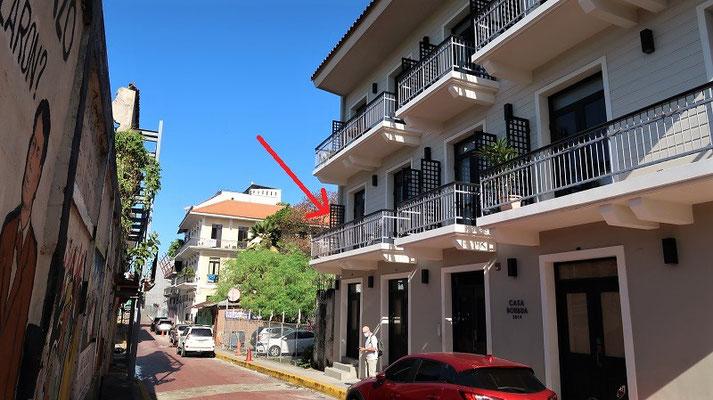 Unsere Wohnung im Casco Viejo....