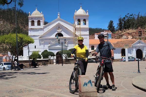 Kloster La Recoleta auf halbem Weg