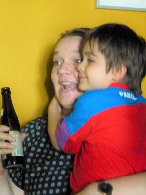 Die Panameños feiern jeden guten Schuss ;o))