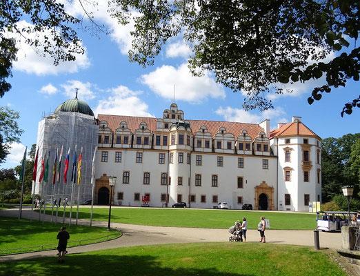 Schloss in Celle/Niedersachsen