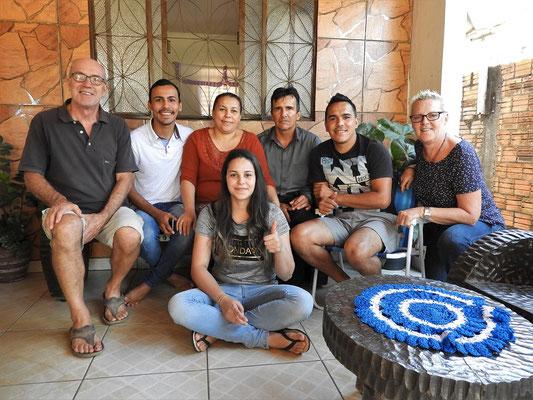 Julianderson, Odinete, Marcos, Maylson und Maryele - unsere super netten Gastgeber :o))