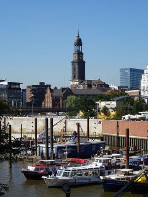 Das Wahrzeichen von Hamburg 'Der Michel'