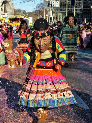 Auch Bolivien ist vertreten