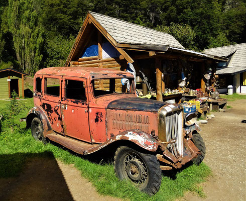 Das erste erste Auto in Colonia Suiza ;o))