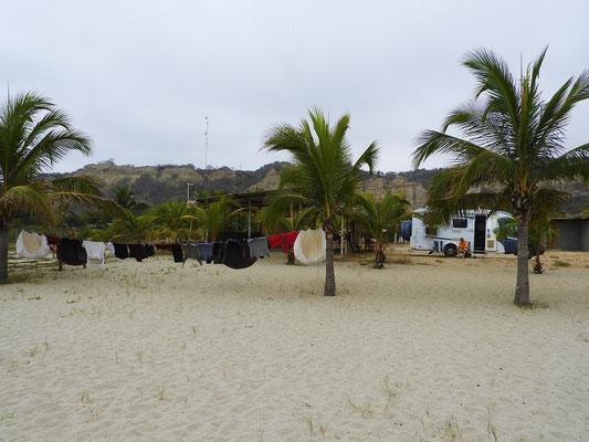 Grosser Waschtag an der Beach