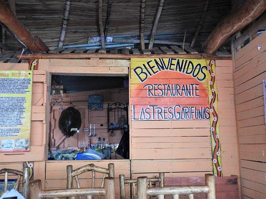 Mittagessen im Restaurant Las Tres Garifunas....