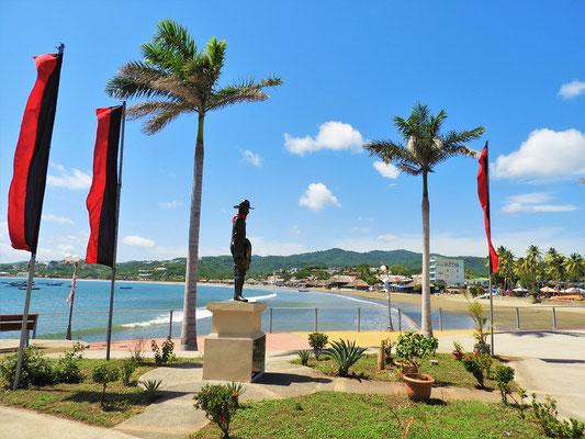 Denkmal von Augusto Nicolás Calderón Sandino - Guerillaführer und Kopf des nicaraguanischen Widerstands gegen die US-Besatzung